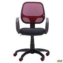 Кресло Бит Color/АМФ-8 сиденье А-1/спинка Сетка бордовая, фото 3