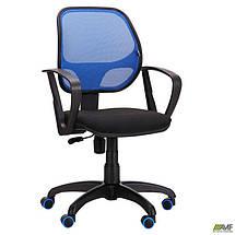 Кресло Бит Color/АМФ-7 сиденье А-1/спинка Сетка синяя, фото 2