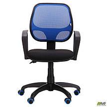 Кресло Бит Color/АМФ-7 сиденье А-1/спинка Сетка синяя, фото 3