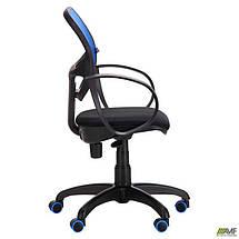 Кресло Бит Color/АМФ-8 сиденье Сетка черная/спинка Сетка синяя, фото 2