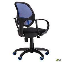 Кресло Бит Color/АМФ-8 сиденье Сетка черная/спинка Сетка синяя, фото 3