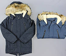 Куртка на меху для мальчиков Grace, 8-16 лет. {есть:10 лет,16 лет,8 лет}