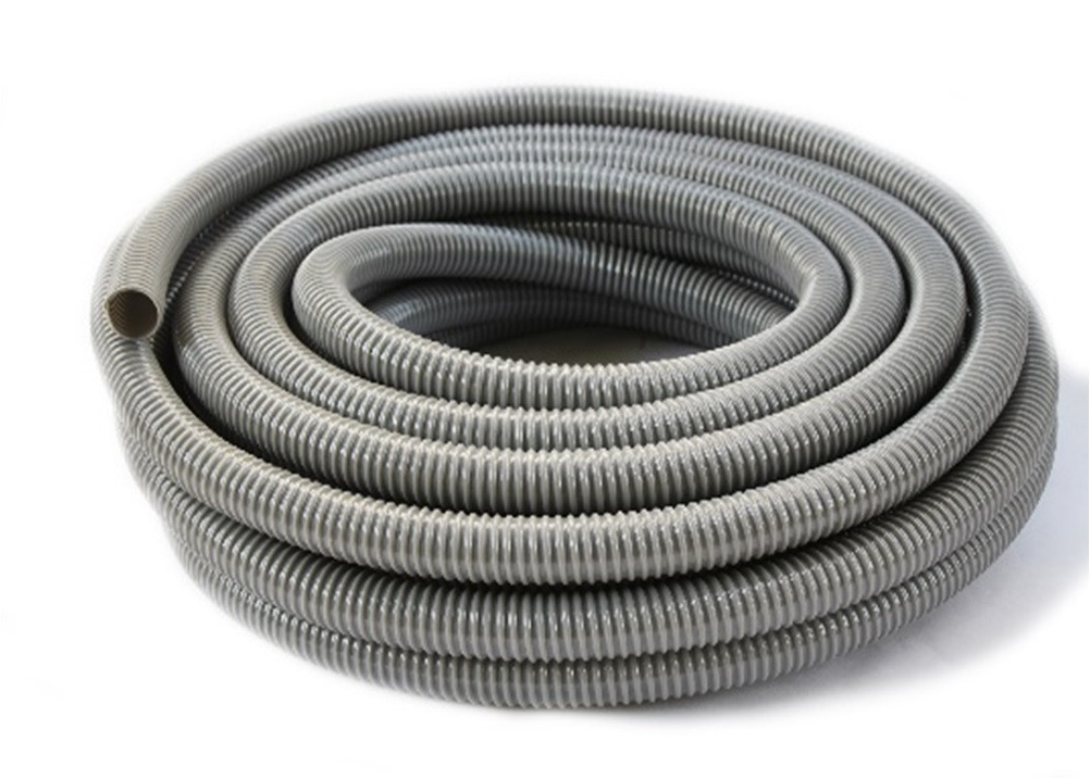 Шланг гофра Evci Plastik воздушная серая диаметр 100 мм, длина 25 м
