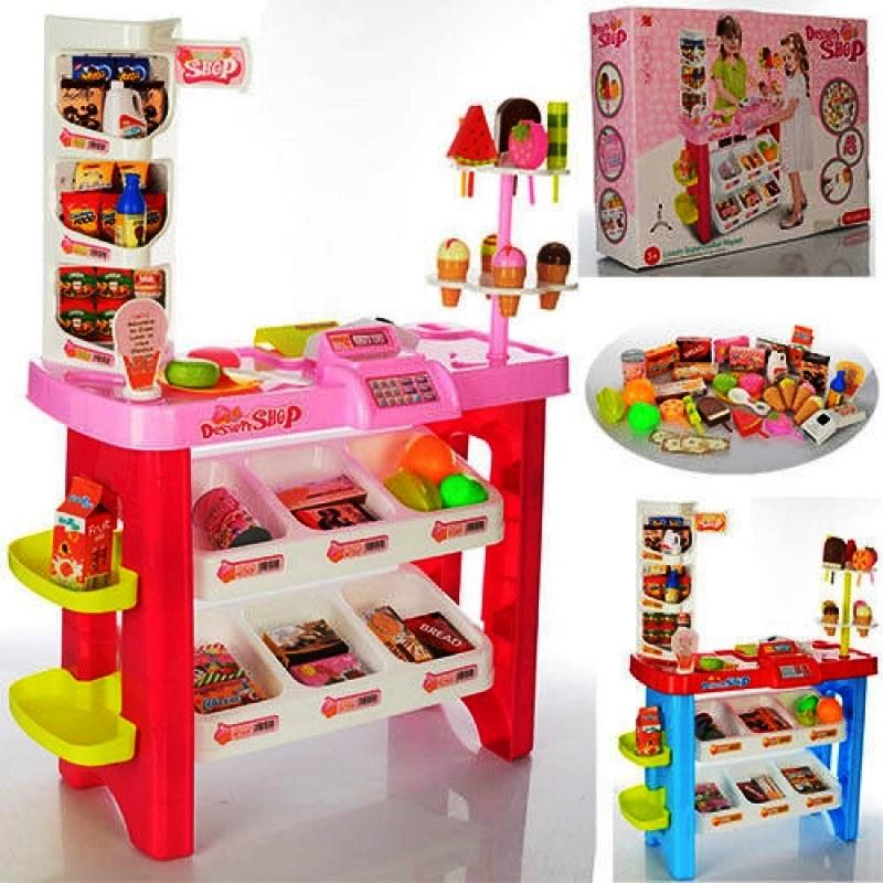 Магазин Супермаркет 668-19-21 40 предметов, сканер