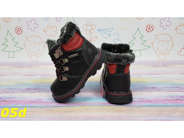 Детские зимние тимбер ботинки на протекторной подошве р. 22. 23, 24 ... 685f4decfdd