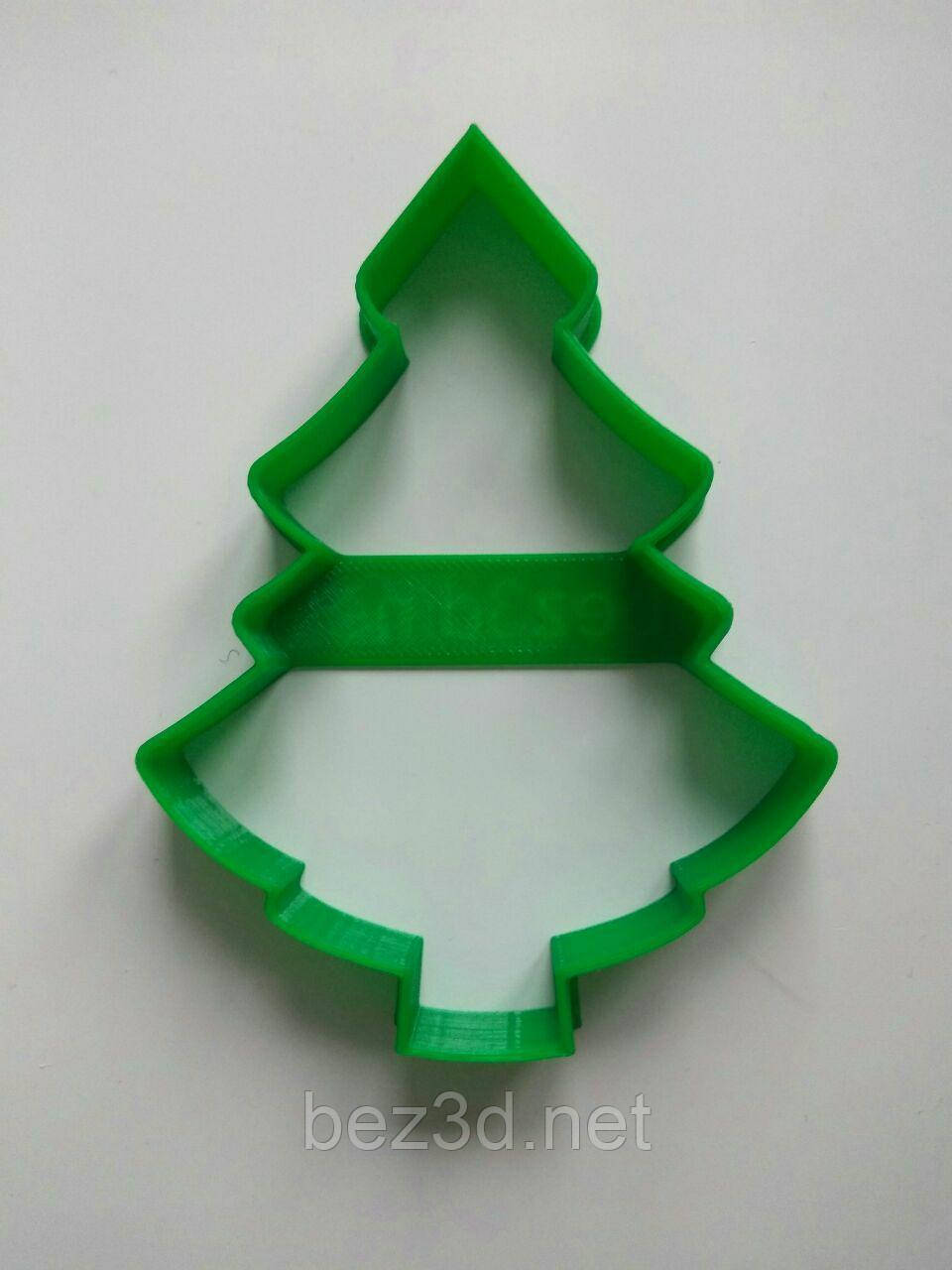 "3D формочки-вырубки для пряников ""Ёлочка 6"""