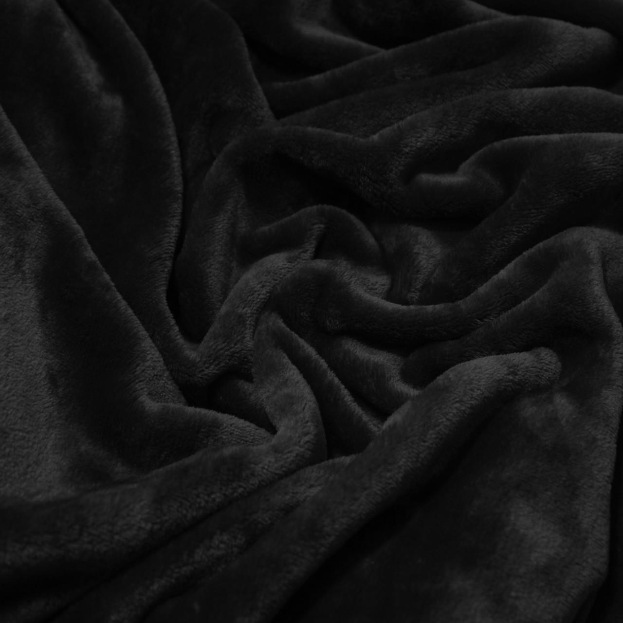 Махра велсофт черная