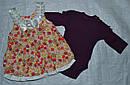 Комплект Inflatable: боди и сарафан для девочки (Petito club, Турция), фото 2