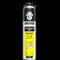 Клей-піна GROVER FX45 поліуретанова для монтажу теплоізоляції, 0,718 л
