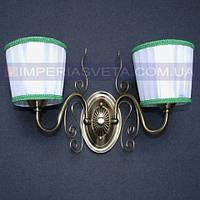 Классическое бра, настенный светильник IMPERIA двухламповое LUX-522305