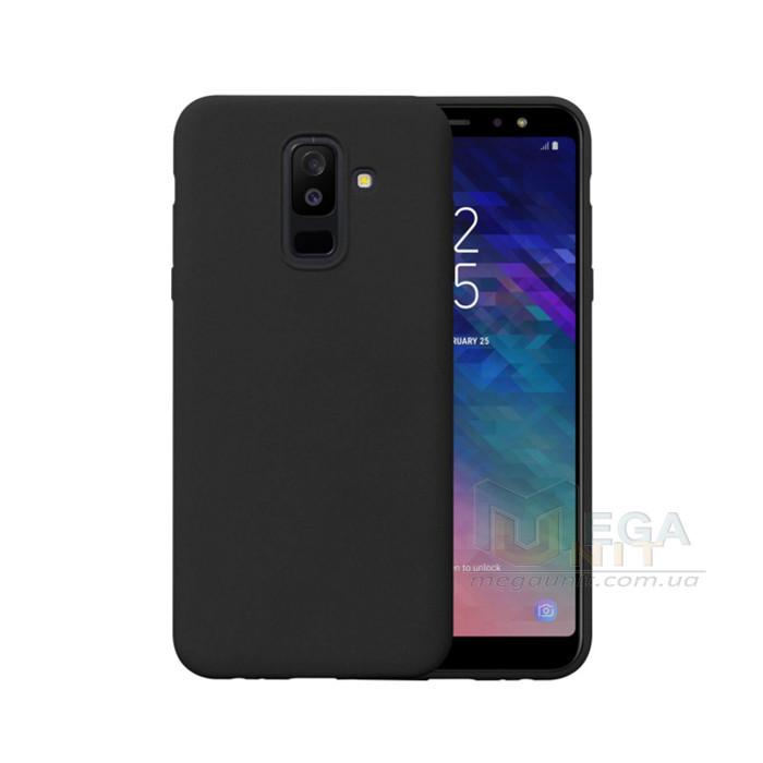 Силиконовый чехол для Samsung Galaxy A6 Plus 2018 (A605) с матовым покрытием