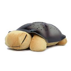 Ночник проектор звездного неба черепаха музыкальный Спартак