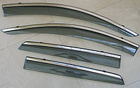 Suzuki SX-4 S-Cross  ветровики дефлекторы окон ASP с молдингом нержавеющей стали / sunvisors