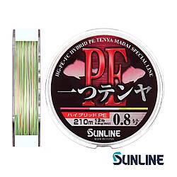 Шнур Sunline Hitotsu Tenya PE 210м #0.8/0.164мм 12LB/5.6кг