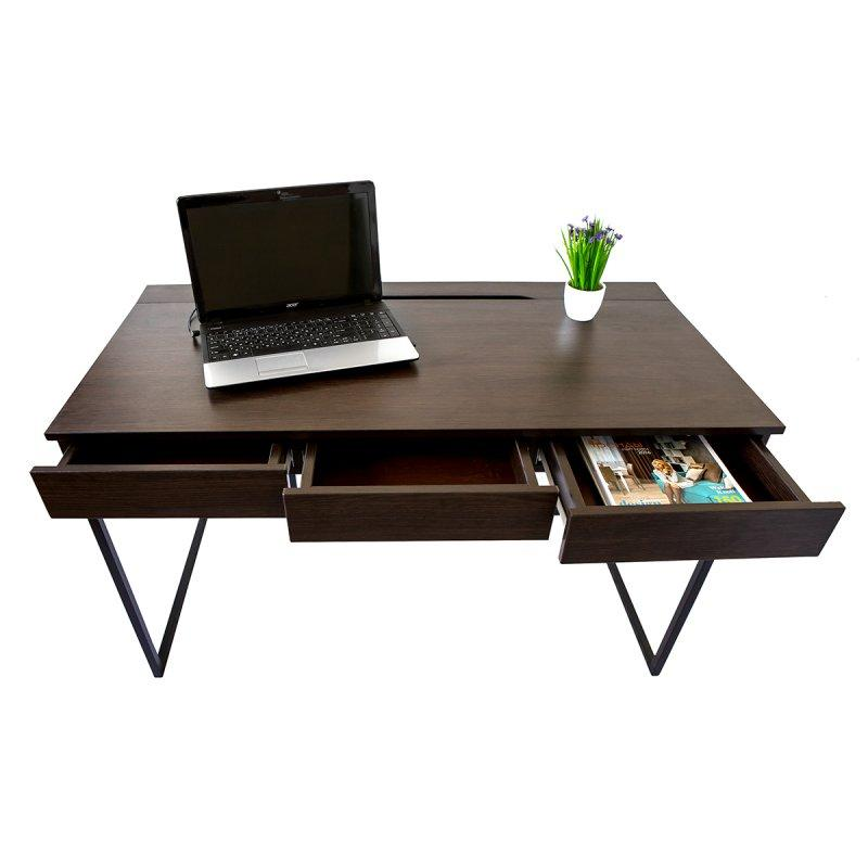 Письменный - компьютерный стол с ящиками (Моррис 2)