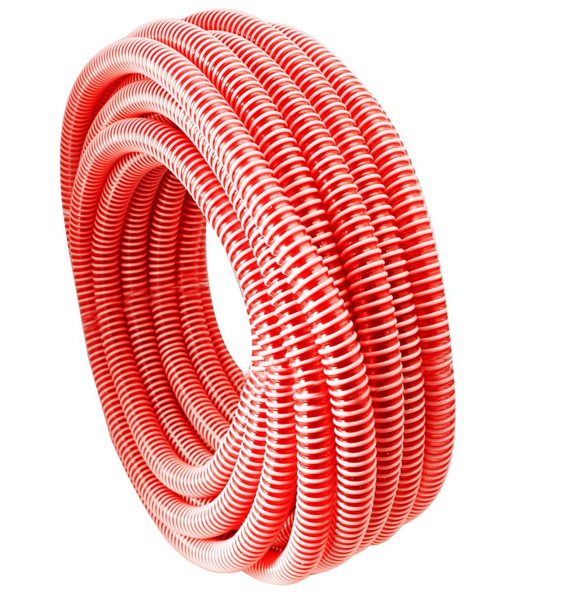 Шланг гофра напірна Evci Plastik червона діаметр 25 мм, довжина 25 м.