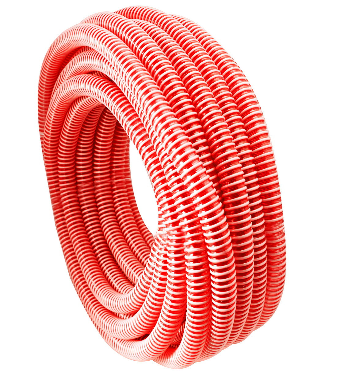 Шланг гофра напорная Evci Plastik красная диаметр 25 мм, длина 25 м.