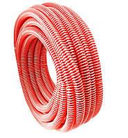 Шланг гофра напорная Evci Plastik красная диаметр 25 мм, длина 25 м., фото 1