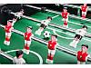 Настольный футбол игровой, профессиональный Evolution Black / Red для дома , фото 7