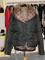 Стильная молодежная куртка с отделкой в клеточку Solar, фото 1