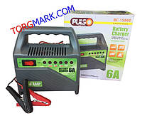 Пуско-зарядное устройство PULSO 6 Ам 6-12 вольт 10-80 А/ч BC-20860