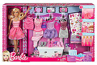 """Ігровий набір """"Барбі"""" модниця з набором одягу / Barbie Glitter Coordinates! Fashion Set, фото 4"""