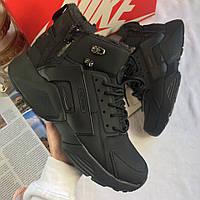 Зимние мужские кроссовки Nike Air Huarache Winter(МЕХ) (ТОП РЕПЛИКА ААА+)