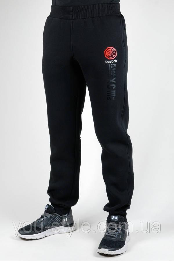 Зимние спортивные брюки Reebok UFC 4917 Чёрные