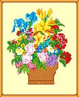 """Набор для вышивки крестиком """"Цветы"""""""