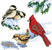 """Набор для вышивки крестиком """"Птички"""""""
