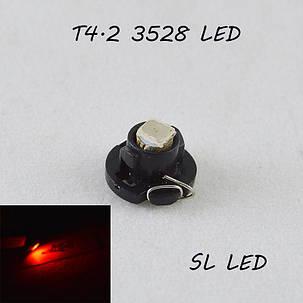 LED лампа в подсветку приборной панели, цоколь T4.2 SL LED, фото 2
