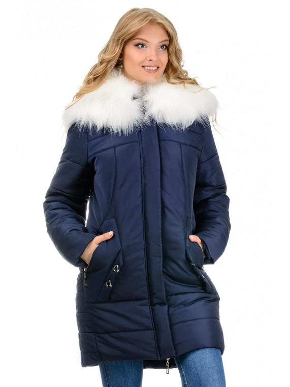 Зимова жіноча куртка, розмір 46 - 52