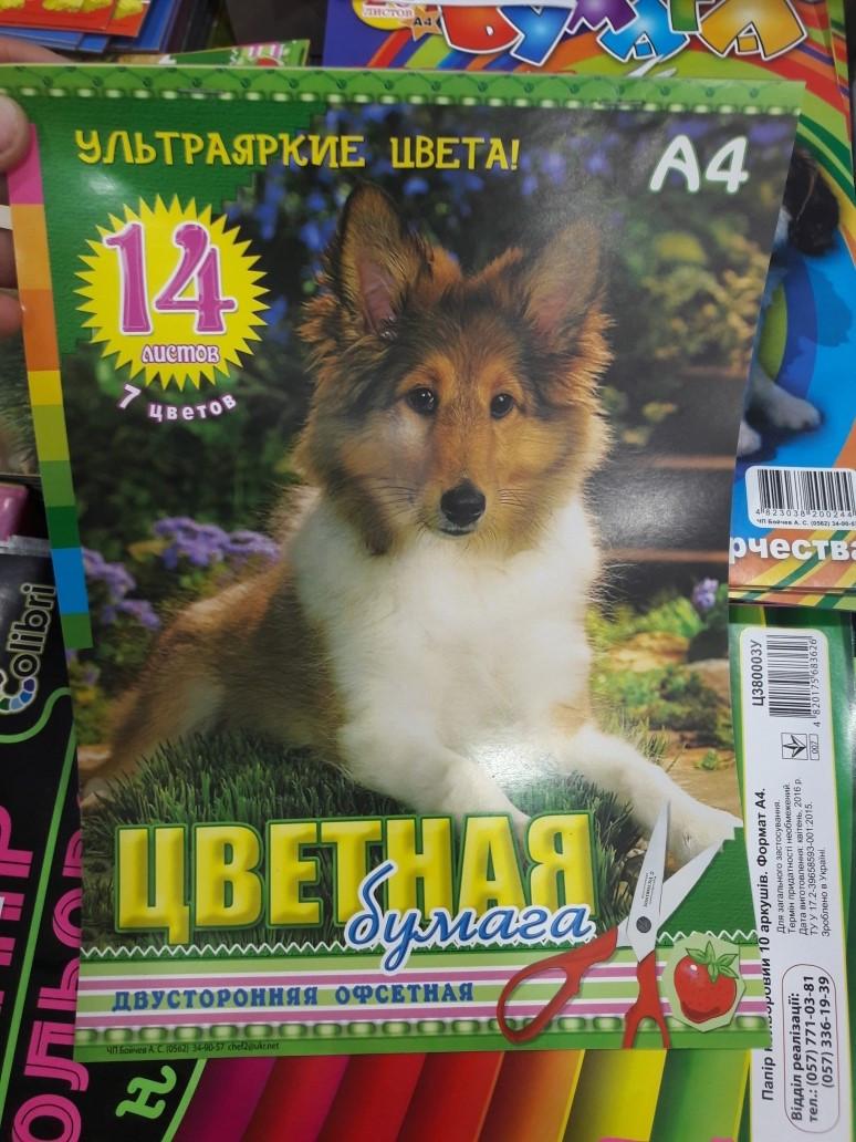 Бойчев (Цветная бумага А-4 14л. двухстор.офсет)