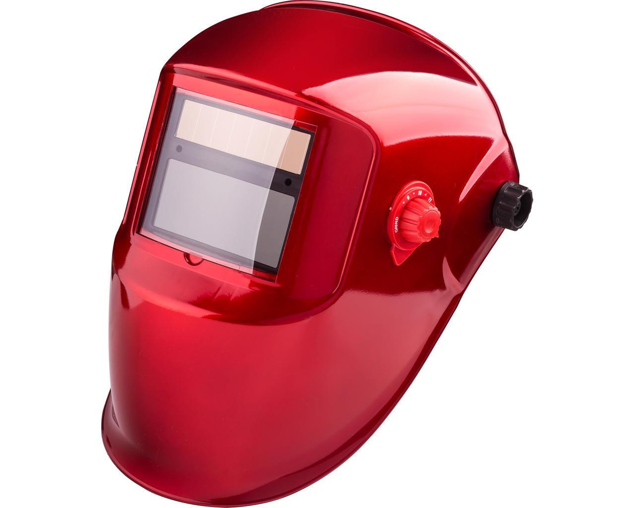 Сварочная маска Apache красная