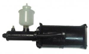 ПГУ УРАЛ-4320, силовой агрегат тормозов,  усилитель пневматический тор