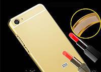 Чехол зеркальный Xiaomi  Redmi  4A, рамка алюминий, зеркало акрил