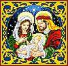 """Набор для вышивки крестиком """"Святое семейство"""""""