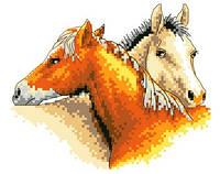 """Набор для вышивки крестиком """"Лошадки"""""""