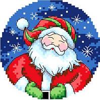 """Набор для вышивки крестиком """"Веселый Санта"""""""