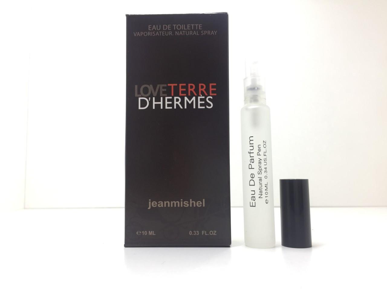 Мини парфюм мужской Jeanmishel Terre d'Hermes (Жанмишель Терре Гермес) 10 мл