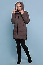 Куртка зимняя женская ниже бедра размеры48,50,52,54,56, фото 2