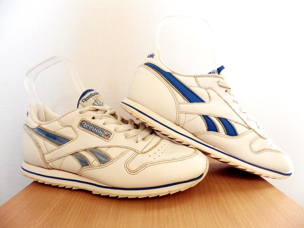 Кроссовки кожаные Reebok Classic р-р 36 (23,3 см) 100% ОРИГИНАЛ (Б/У, СТОК) original белые