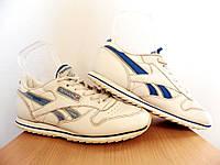 Кроссовки кожаные Reebok Classic р-р 36 (23,3 см) 100% ОРИГИНАЛ (Б/У, СТОК) original белые, фото 1