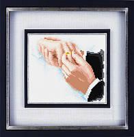 """Набор алмазной вышивки (рисования камнями) """"Момент счастья"""""""