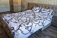 Комплект постельного белья бязь  полуторное 1,5 к003