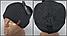 Мужская шапка зимняя с кнопкой, флис м 6126, разные цвета, фото 2