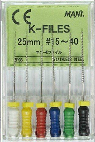 H-File 31мм, уп.6шт, №40, Mani