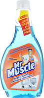Засіб чистячий дскла професіонал Містер Мускул змінна пляшка 500мл синій(w.01020)
