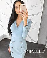 Женское деловое платье  Мод.833, фото 1