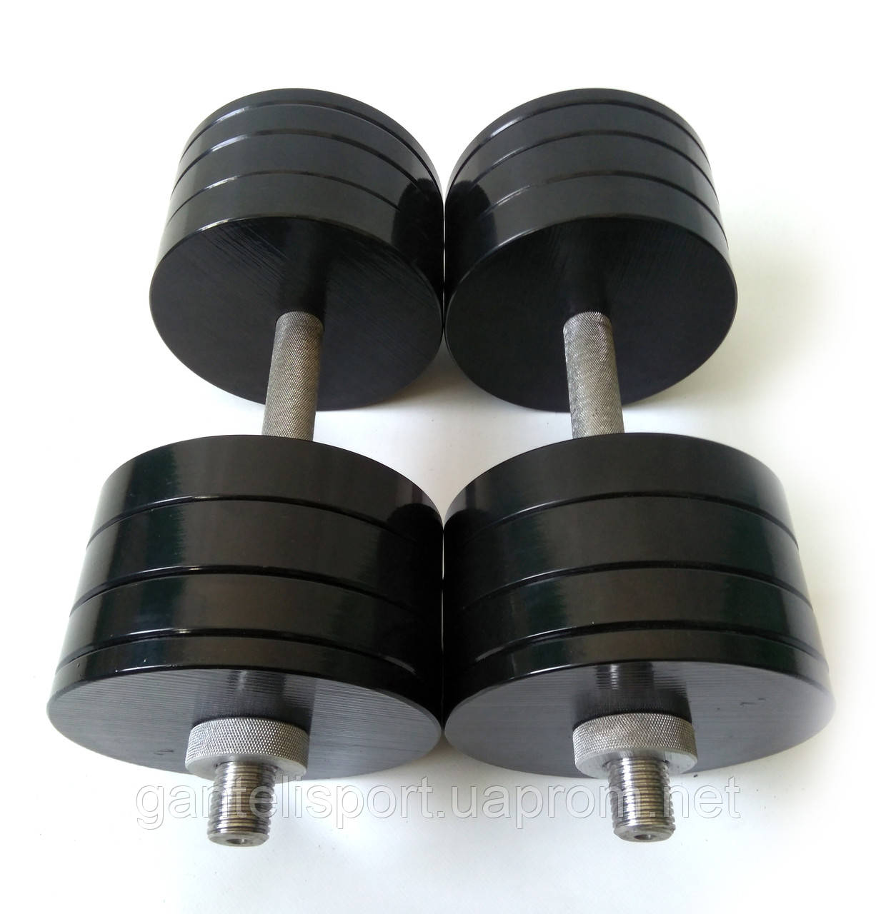 Гантели металлические 2 шт по 34 кг